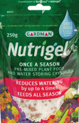 Nutrigel Combined Watergel crystals and Controlled Release Fertiliser - great for use when Planting Climbing Plants & Shrubs